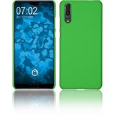 Hardcase P20 rubberized green Case