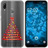Huawei P20 Lite Silicone Case Christmas X Mas M1