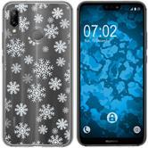 Huawei P20 Lite Silicone Case Christmas X Mas M2