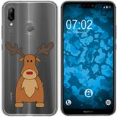 Huawei P20 Lite Coque en Silicone Noël X Mas M3