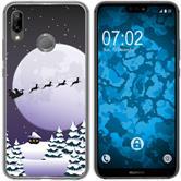 Huawei P20 Lite Silicone Case Christmas X Mas M5