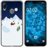 Huawei P20 Lite Silicone Case Christmas X Mas M6