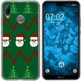 Huawei P20 Lite Silicone Case Christmas X Mas M7