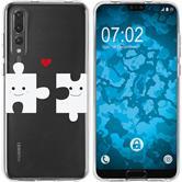 Huawei P20 Pro Silikon-Hülle in Love  M1