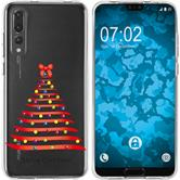 Huawei P20 Pro Silikon-Hülle X Mas Weihnachten  M1