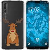 Huawei P20 Pro Silikon-Hülle X Mas Weihnachten  M3