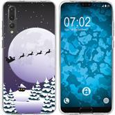 Huawei P20 Pro Silicone Case Christmas X Mas M5