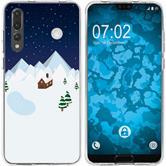 Huawei P20 Pro Silikon-Hülle X Mas Weihnachten  M6