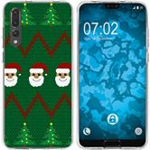 Huawei P20 Pro Silikon-Hülle X Mas Weihnachten  M7