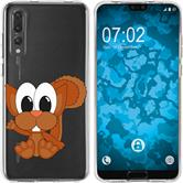 Huawei P20 Pro Silicone Case Cutiemals M8