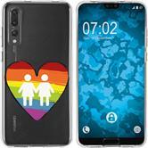 Huawei P20 Pro Silicone Case pride M4