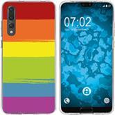 Huawei P20 Pro Silicone Case pride M6