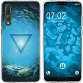 Huawei P20 Pro Silicone Case Element water M4