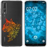 Huawei P20 Pro Silicone Case floral M2-2
