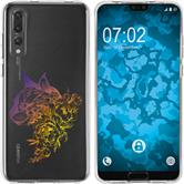 Huawei P20 Pro Silicone Case floral M2-3
