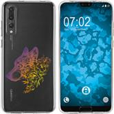 Huawei P20 Pro Silicone Case floral M3-3
