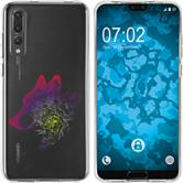 Huawei P20 Pro Silicone Case floral M3-5
