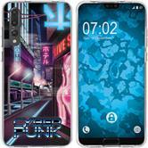 Huawei P20 Pro Silicone Case Retro Wave M4