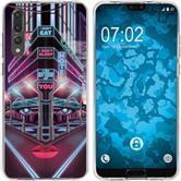 Huawei P20 Pro Silicone Case Retro Wave M5