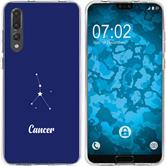 Huawei P20 Pro Silicone Case Zodiac M3