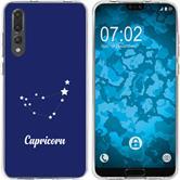 Huawei P20 Pro Coque en Silicone signe du zodiaque M7