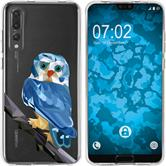 Huawei P20 Pro Silicone Case vector animals M1