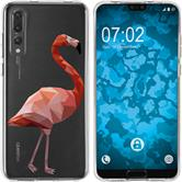 Huawei P20 Pro Silicone Case vector animals M2