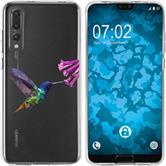 Huawei P20 Pro Silicone Case vector animals M3