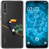 Huawei P20 Pro Silicone Case vector animals M5