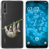Huawei P20 Pro Silicone Case vector animals sloth M6