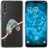 Huawei P20 Pro Silicone Case vector animals M7