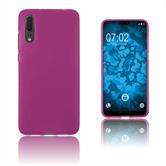 Silikon Hülle P20 matt pink Case