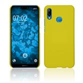 Hardcase P20 Lite rubberized yellow Case