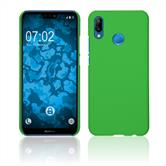 Hardcase P20 Lite rubberized green Case