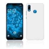 Hardcase P20 Lite rubberized white Case