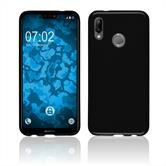Silicone Case P20 Lite transparent black Case