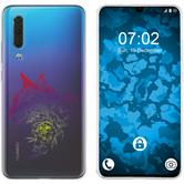 Huawei P30 Silicone Case floral M2-5