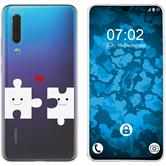 Huawei P30 Silicone Case in Love M1
