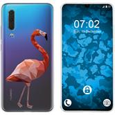 Huawei P30 Silicone Case vector animals M2