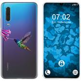 Huawei P30 Silicone Case vector animals M3