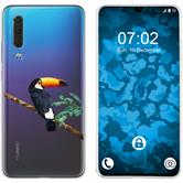 Huawei P30 Silicone Case vector animals M5