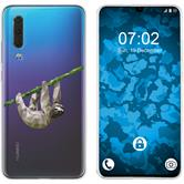Huawei P30 Silicone Case vector animals sloth M6