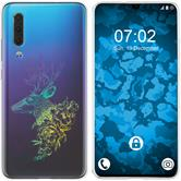 Huawei P30 Silicone Case floral M7-4
