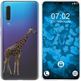 Huawei P30 Silicone Case vector animals M8