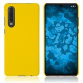 Hardcase P30 rubberized yellow Cover