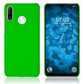 Hardcase P30 Lite rubberized green Cover