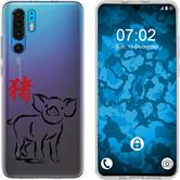 Huawei P30 Pro Silikon-Hülle Tierkreis Chinesisch  M12