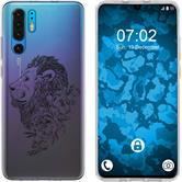 Huawei P30 Pro Silicone Case floral M6-1