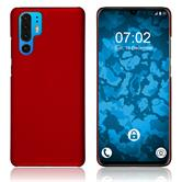 Hardcase P30 Pro rubberized red Cover