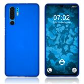 Silicone Case P30 Pro matt blue Cover